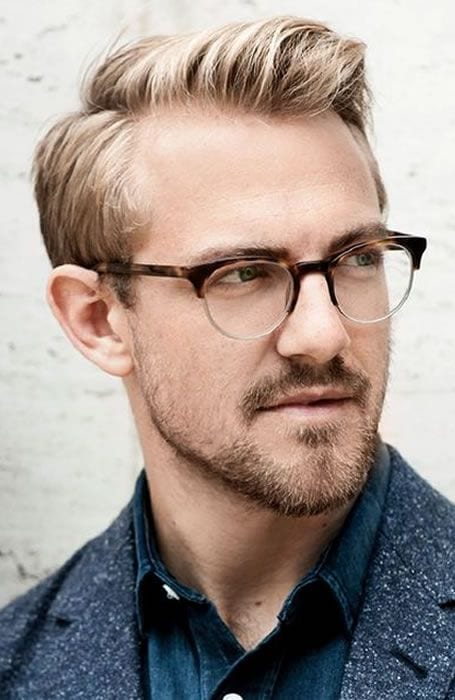 side part and specs