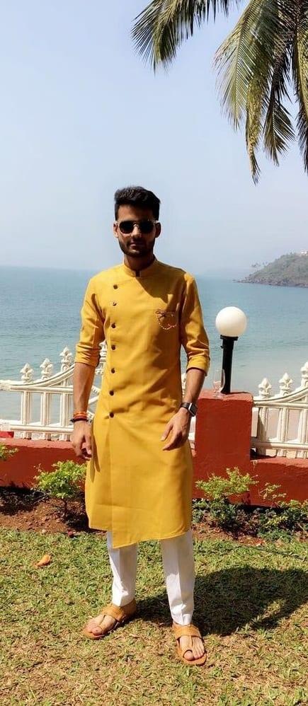 Haldi Ceremony Outfit Ideas For Men