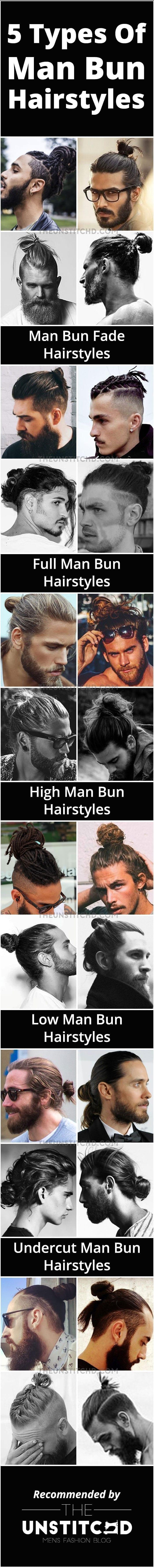 Man-Bun-Hairstyle