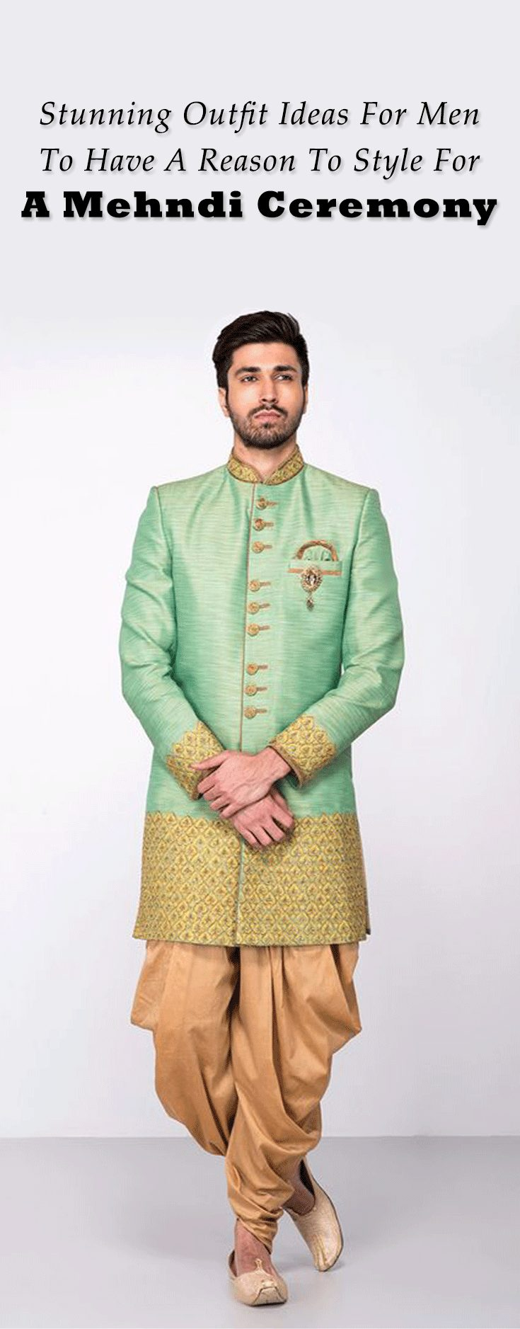 Styling For Mehndi Made Easy With This Style Guide For Men