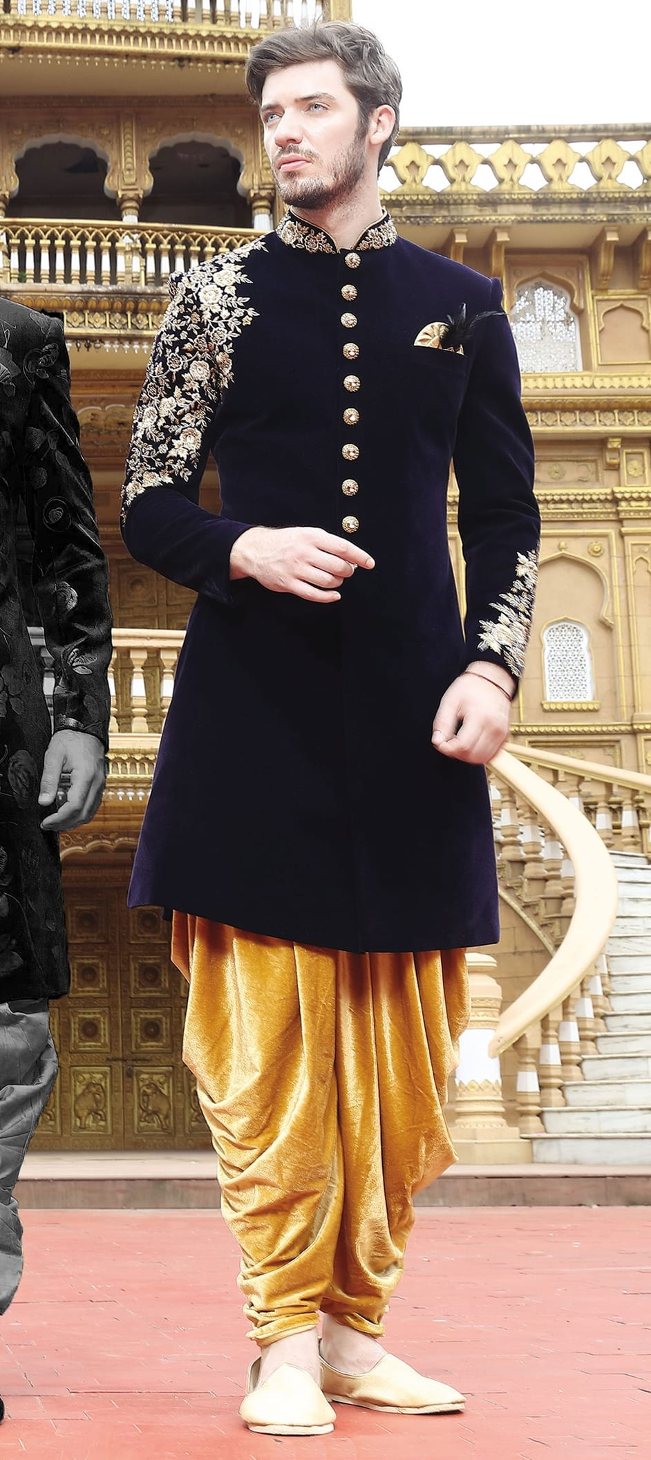Trendy Indo Western Outfit Ideas For Men This Wedding Season