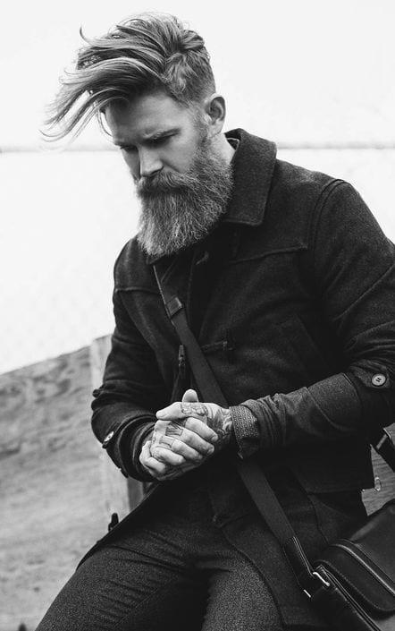 bearded fade styles