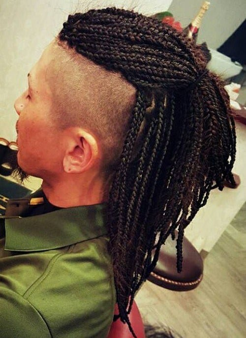box mohawk dreadlock