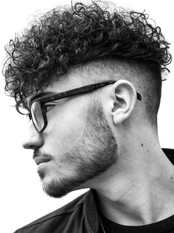 faded curls