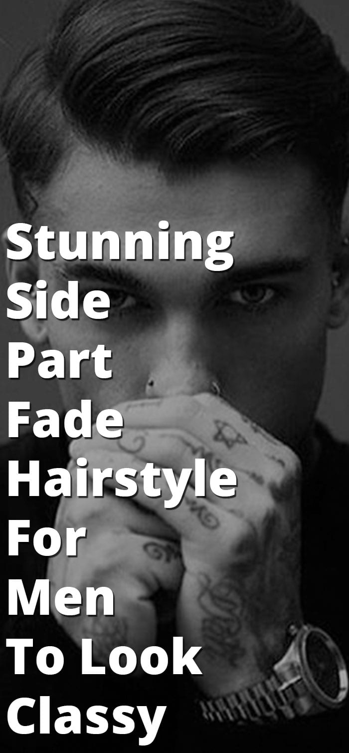 Side Part Fade Hairstyle
