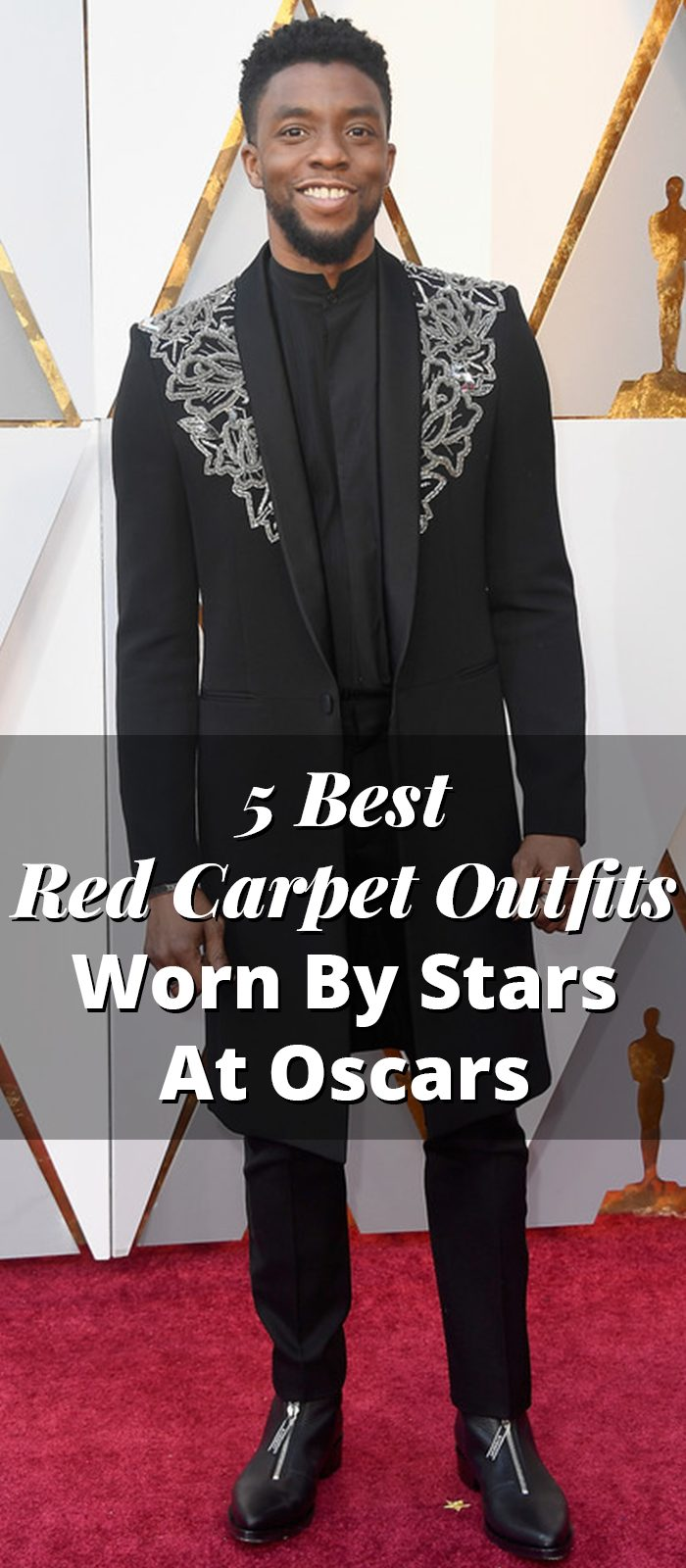 5 Best Red Carpet Outfits Worn By Stars At Oscars