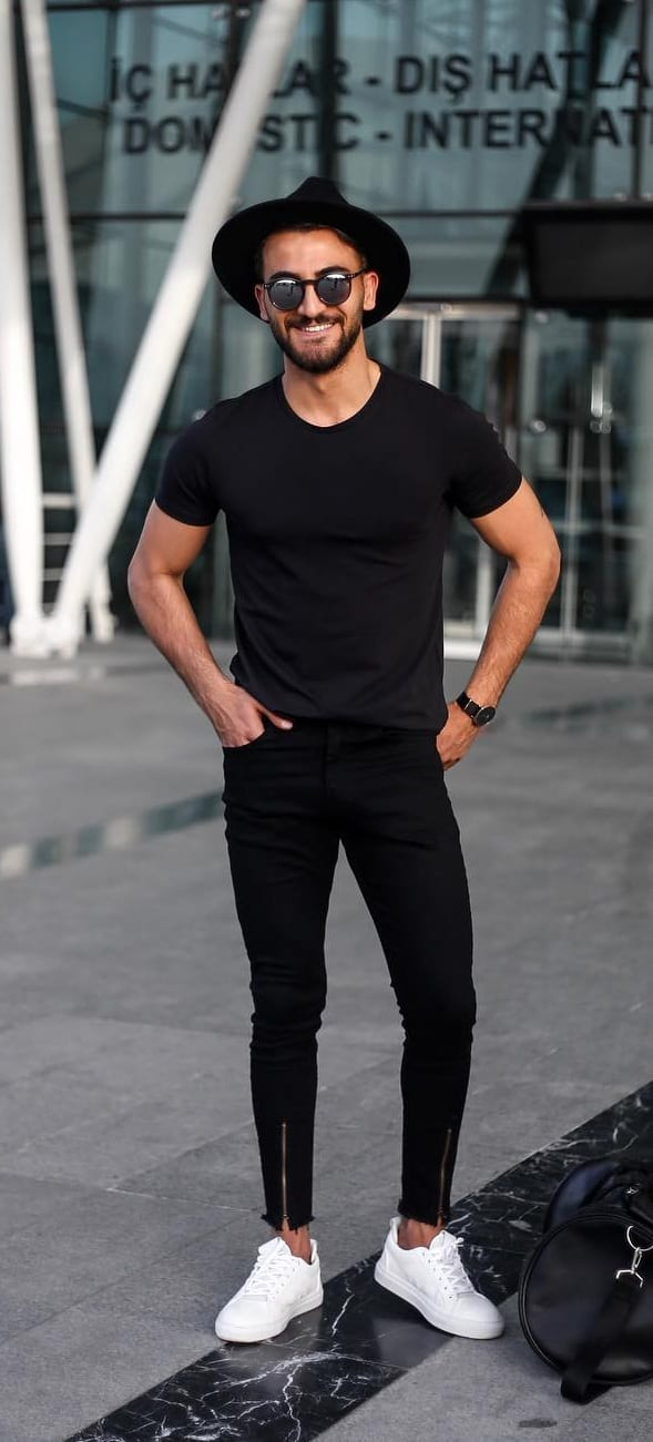 Black T Shirt Outfit Ideas