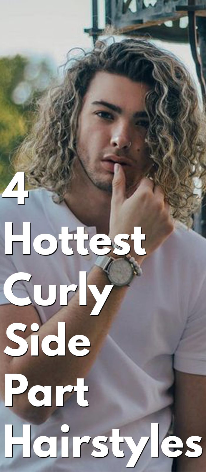 Hottest Curly Side Part Hairstyles
