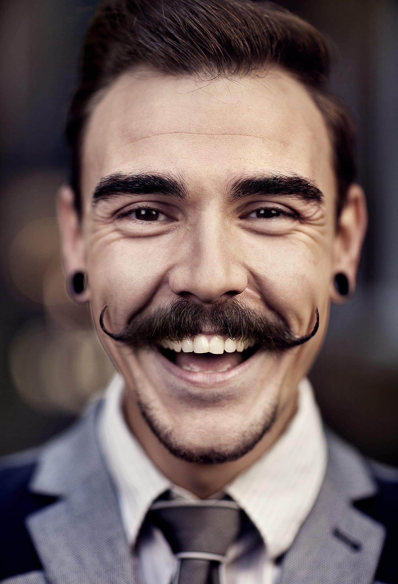 Moustache-Facial Hair Styles for men