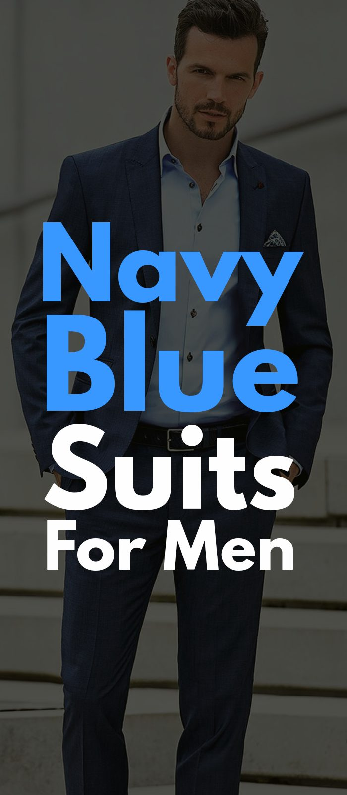 NAVY BLUE SUITS FOR MEN