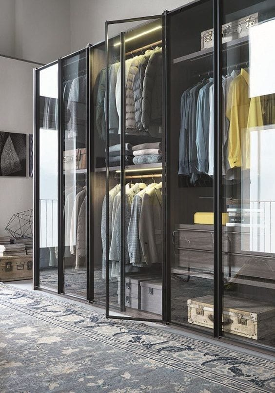 Revise Storage for wardrobe maintenance
