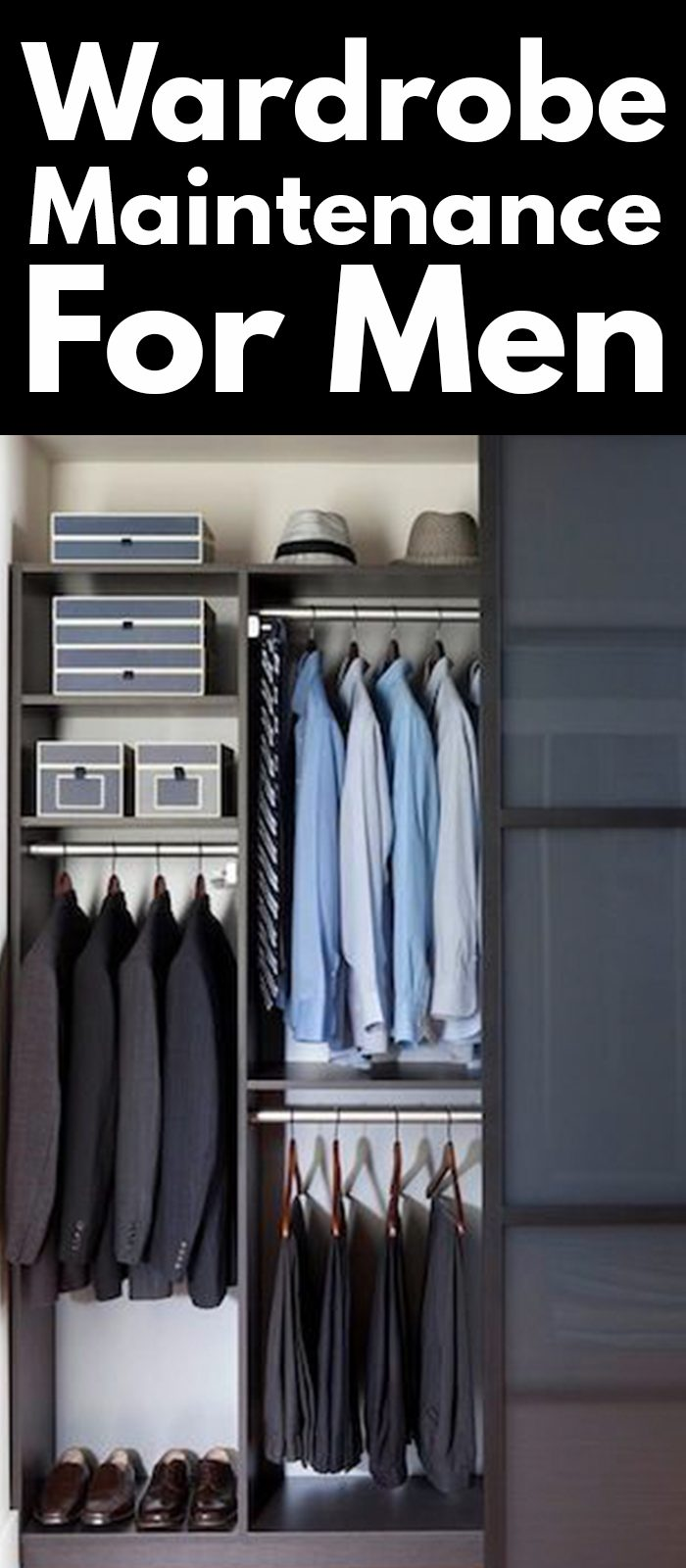 WARDROBE MAINTENANCE FOR MEN