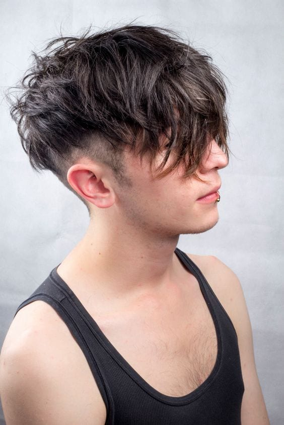 2 Sexy Ways To Get The Messy Undercut Hairstyle Mens Hairstyle Guide
