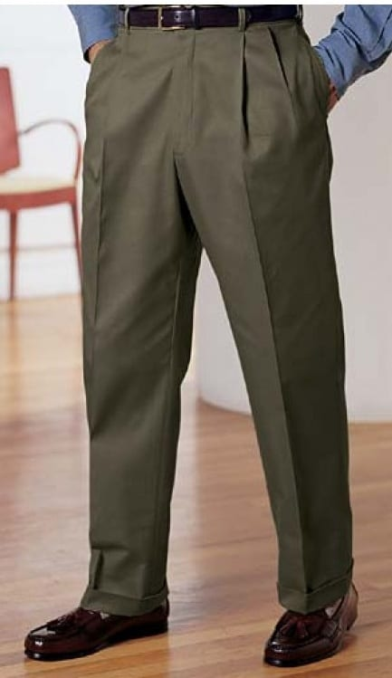 pleated trouser suits