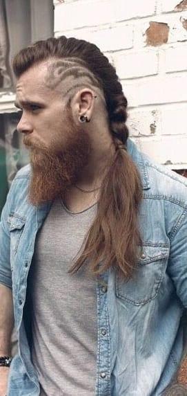 undercut braided ponytail styles