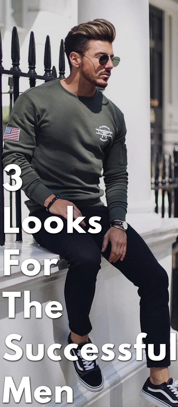 3 Looks For The Successful Men in 2018