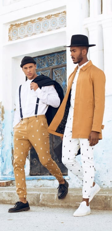 Printed Pants Men