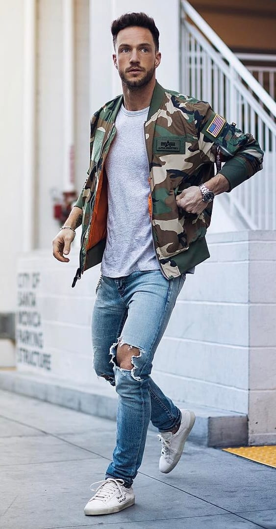 Street Style Trends - Military style attires