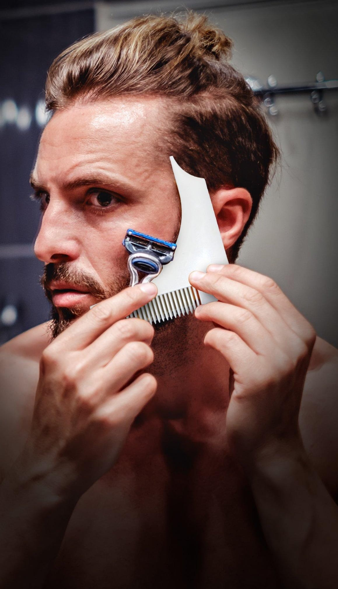 beard shaping tools