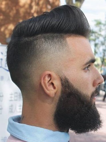 disconnected pomp with beard