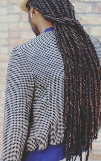 2 Stunning Ways For Men To Style Half Ponytail Dreadlocks