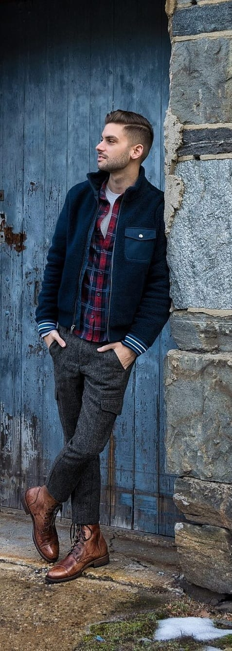 outfit layering - jackets