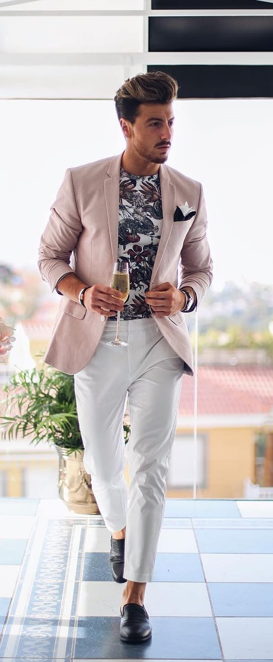 outfit layering men