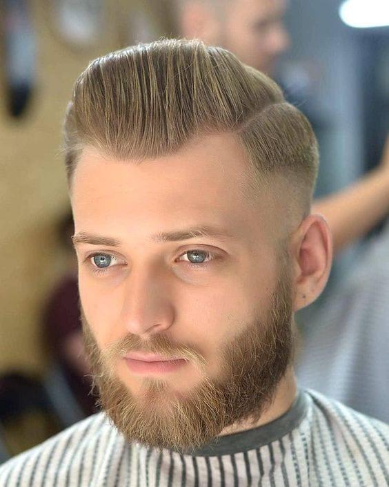 skin fade beard