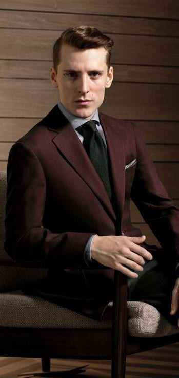 structured blazers for men