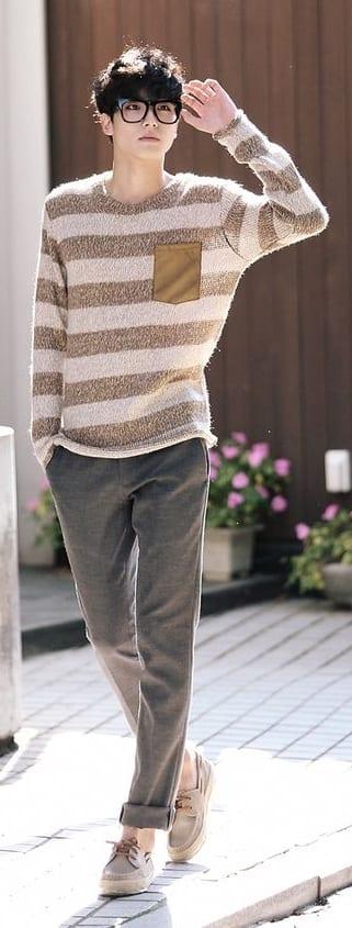 Korean Preppy style