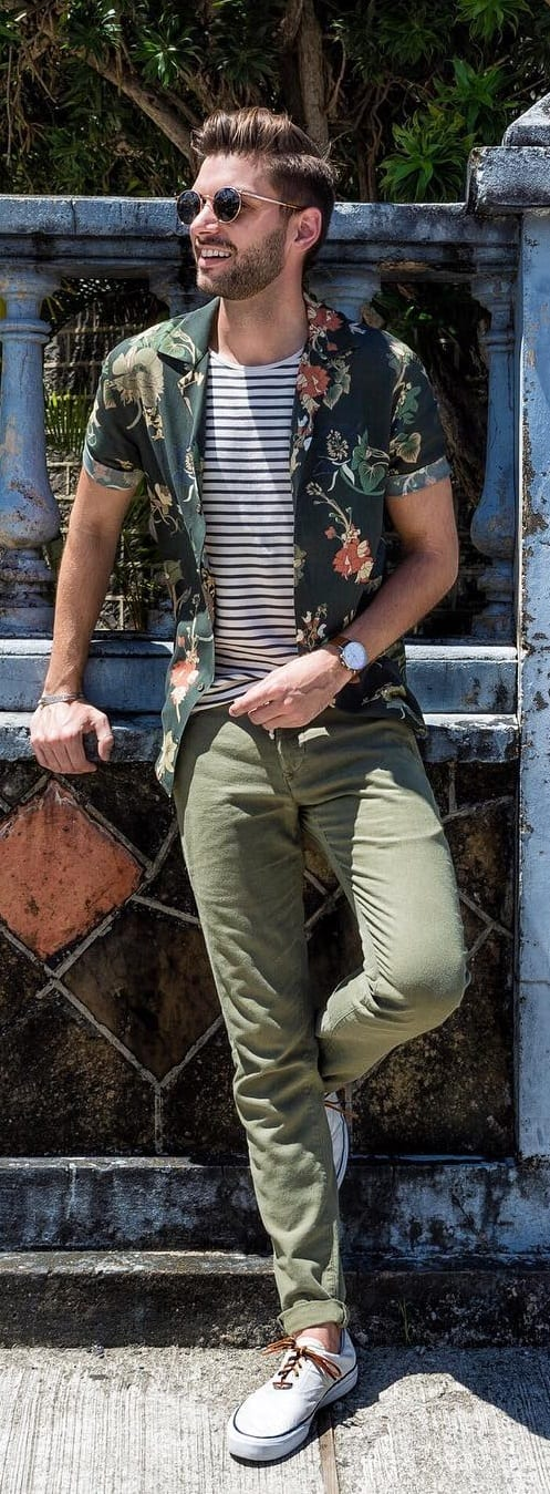 Men's Preppy Style- chinos