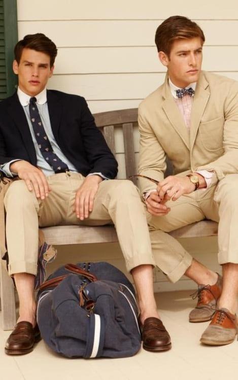 preppy style men