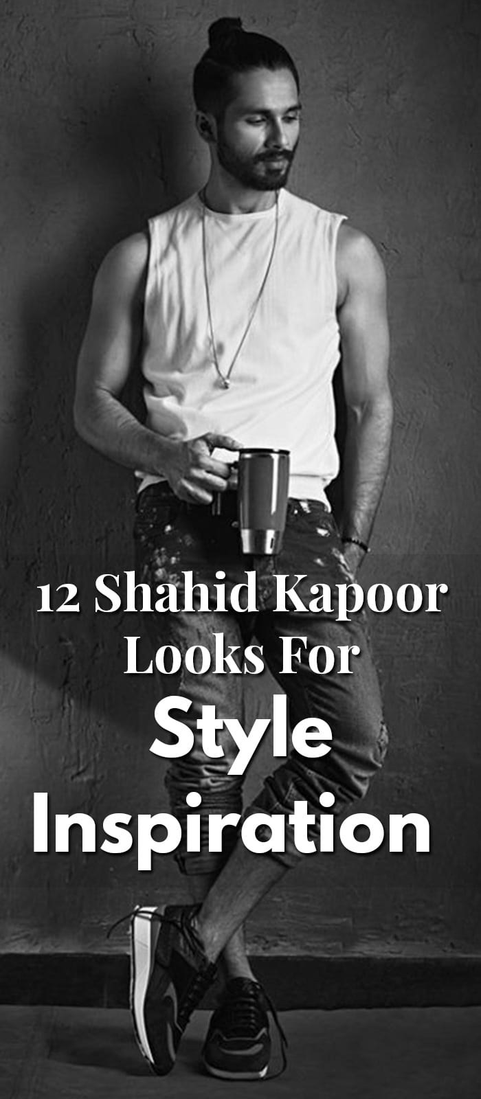 12 Shahid Kapoor Looks For Style Inspiration