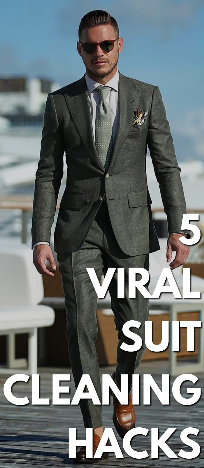 5 Viral Suit Cleaning Hacks
