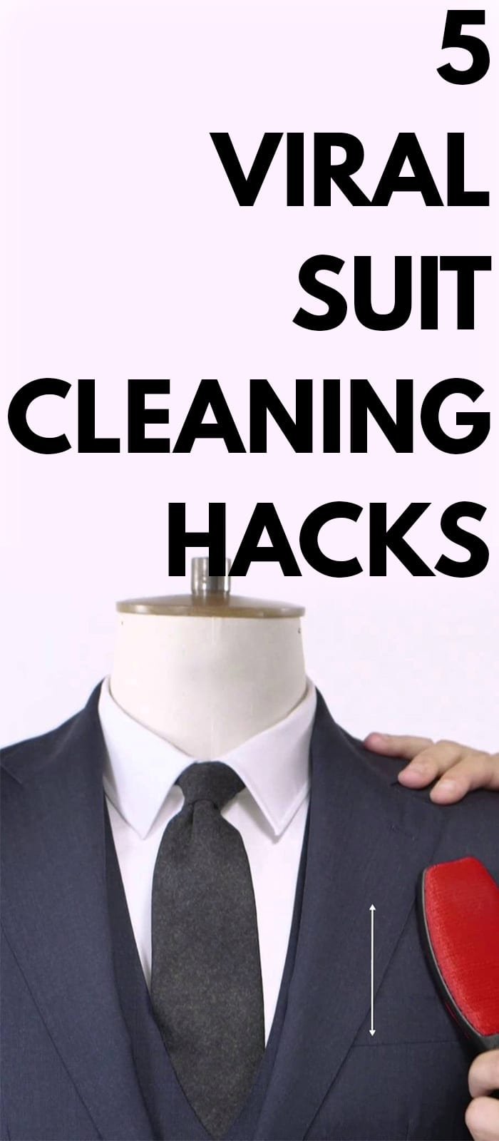 5 Viral Suit Cleaning Hacks!