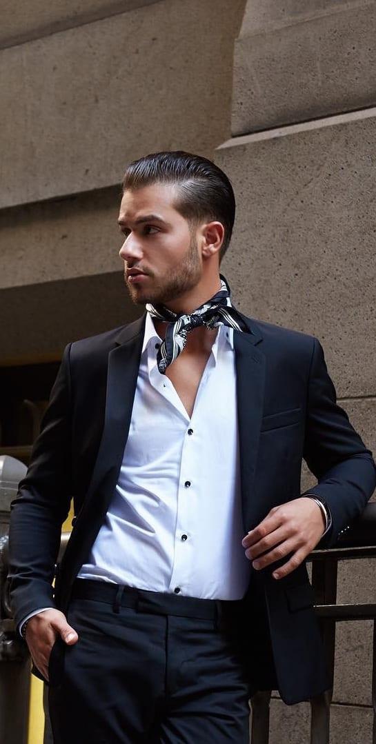 Bandana fashion for guys