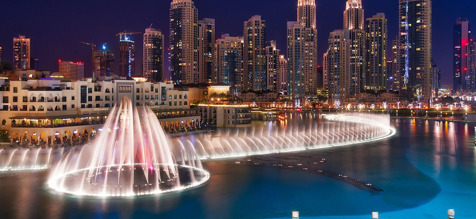 Dubai Fountain show timing & pricing