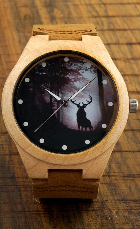 Few Wooden Watches For Men