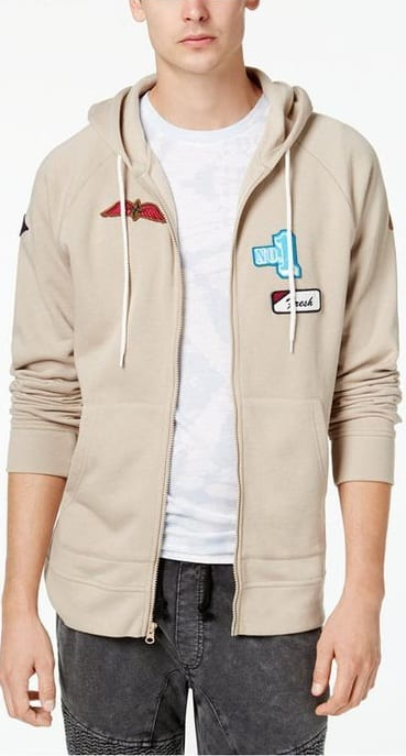 Hoodie Patch Outfit For Men