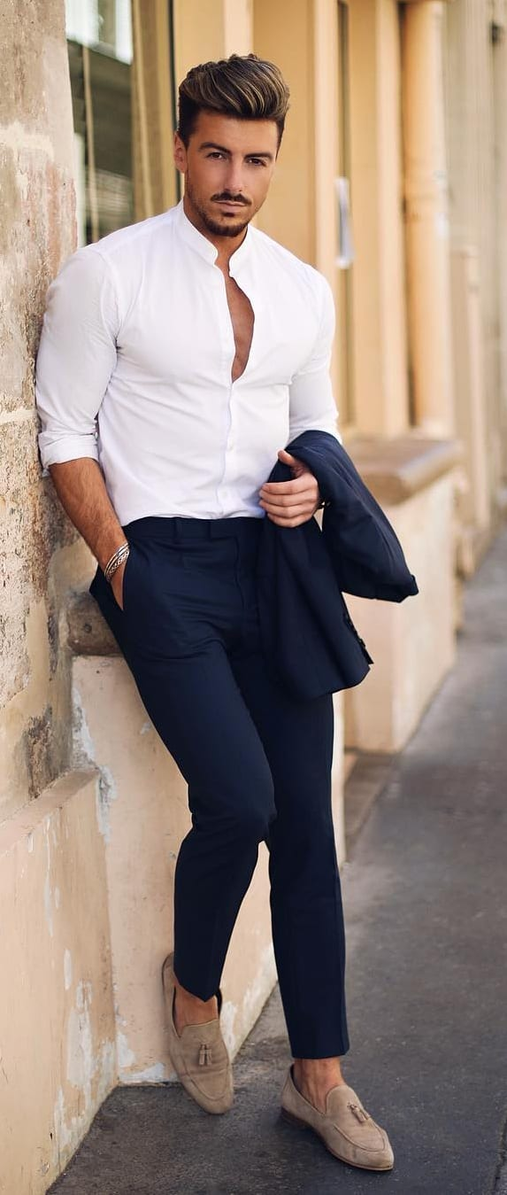 Things Men Should Own - White Shirt