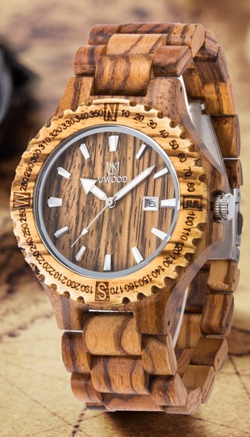 Wooden Watch For Men in Trend