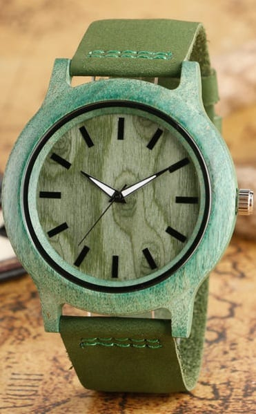 Wooden Watch styling