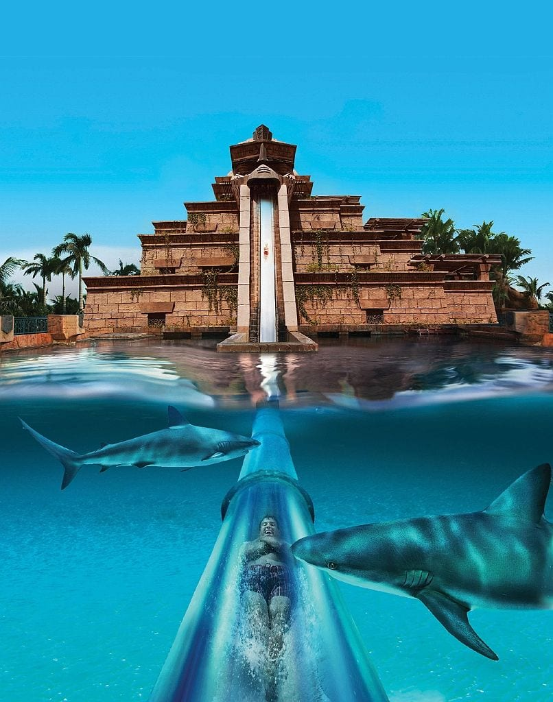 aquaventure and lost chambers in dubai palm atlantis
