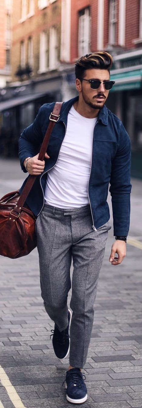 Fashionable Mix Match Outfit Ideas For Men