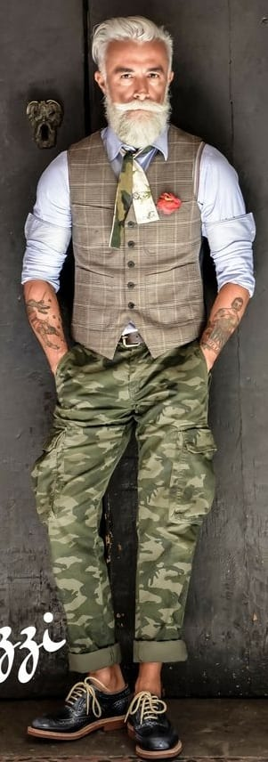 Funky Pattern Outfit Ideas For Men