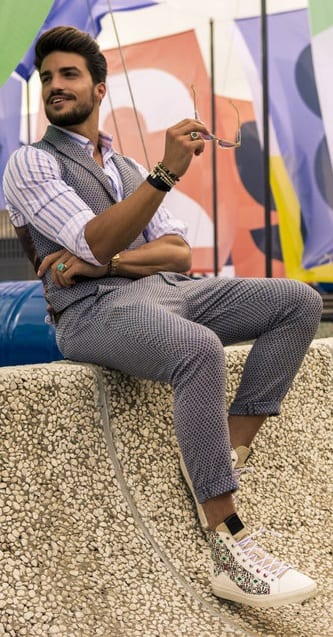 Pattern Outfit Ideas For Men