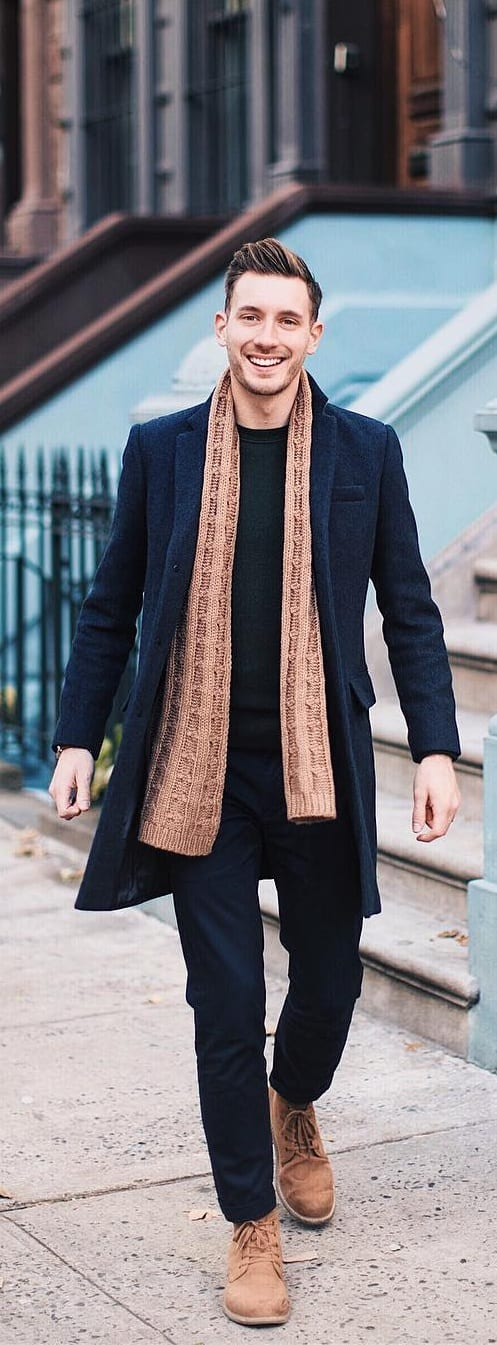 15 Stunning Coat Outfit Ideas For Men