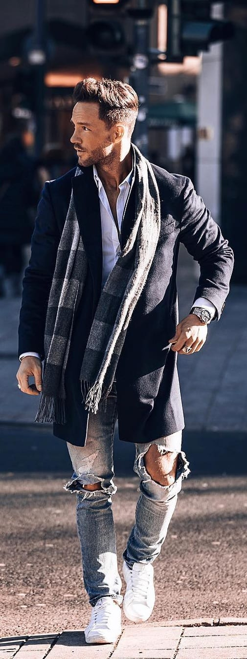 Amazing Coat Outfit Ideas For Men