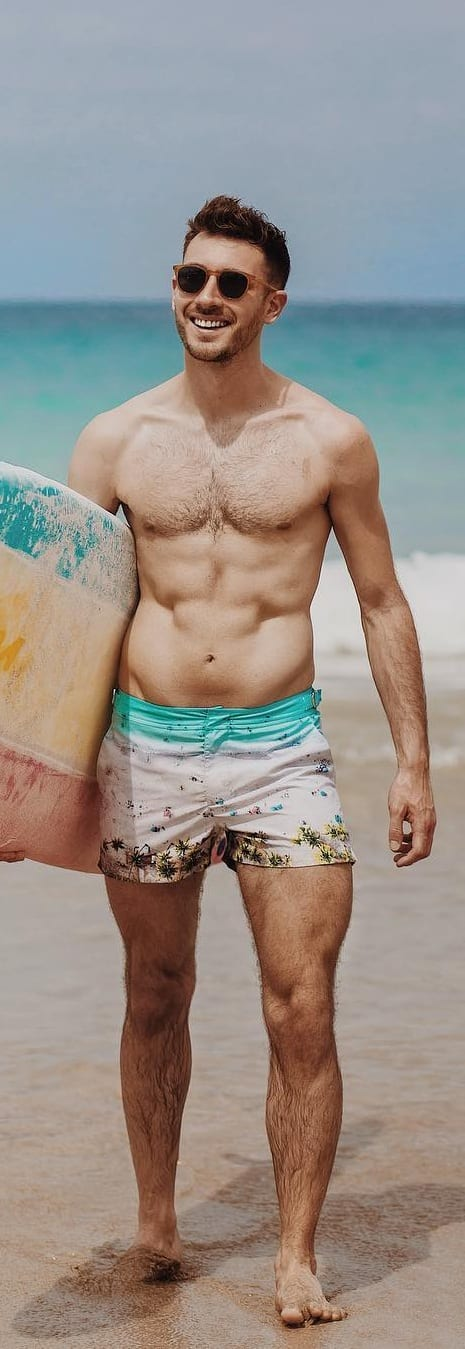 Beach Short Outfit Ideas For Men