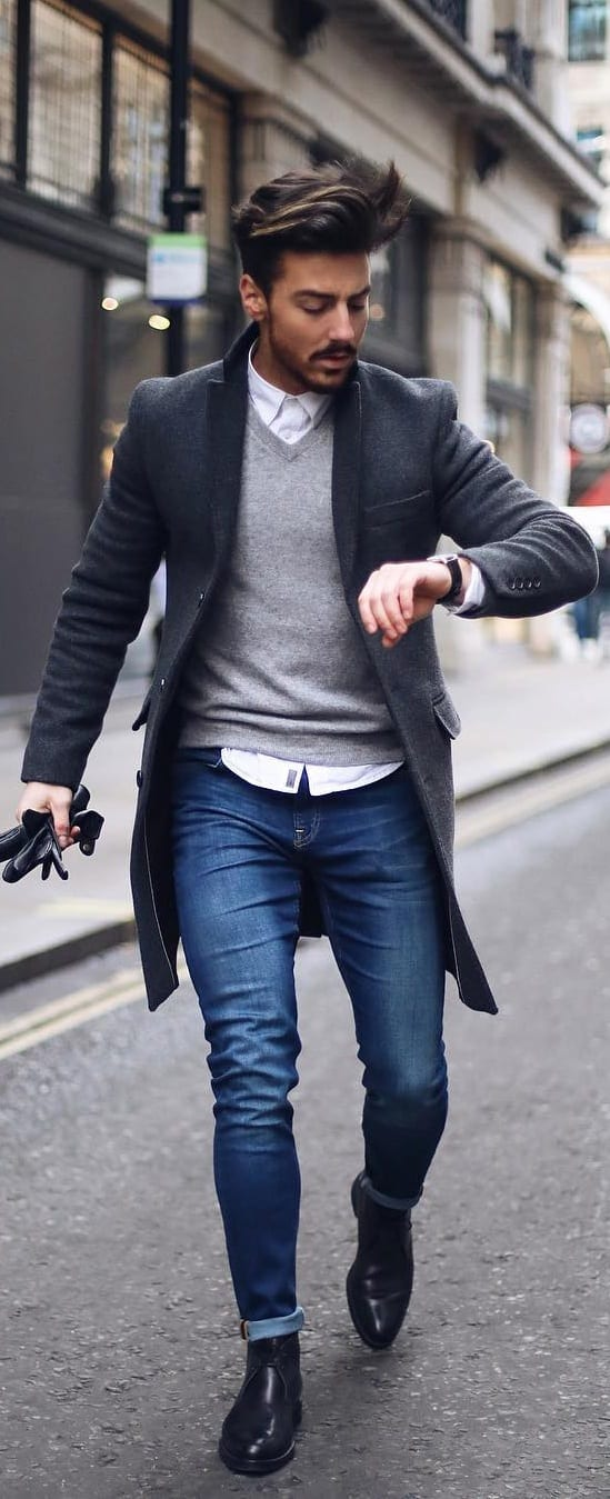 Casual Coat Outfit Ideas For Men